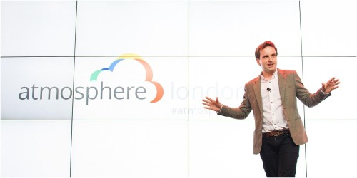 Steve hosts Google Atmosphere 2014
